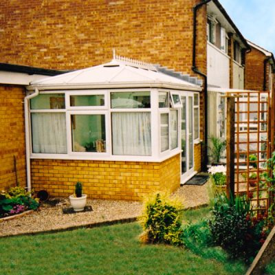 Double Hipped Conservatory. Hornchurch, Essex